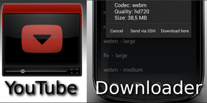 Download any format of video using YouTube Downloader in Android Smartphone