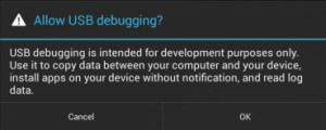 prompt-notification-to-enable-usb-debugging