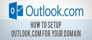 How to access personal web domain email address from outlook.com?