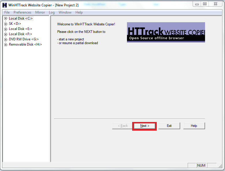 New-project-using-HTTrack-to-download-complete-websites-blog