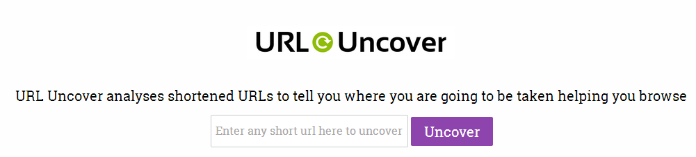 URL-uncover-homepage