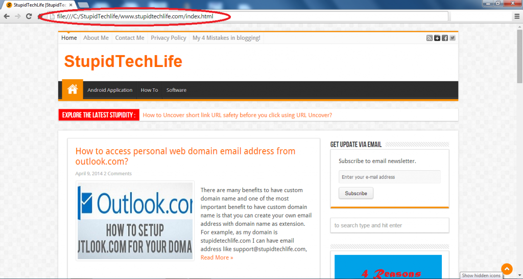 offline-view-of-stupidtechlife-com-using-httrack-website-copier