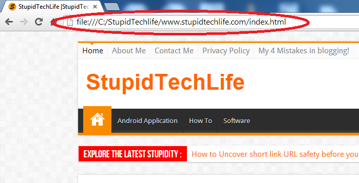 offline-view-of-stupidtechlife-com-using-httrack-website-copier-thumnail