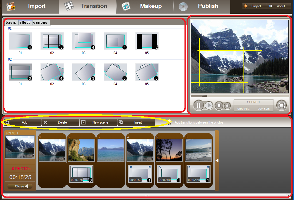 adding-transition-or-animation-effect-to-photo-to-make-movie-clip