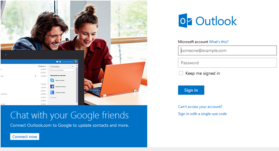 how to use outlook to add an uq email address
