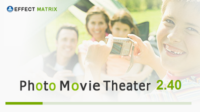 Convert photos to movie clip using Photo Movie Theater