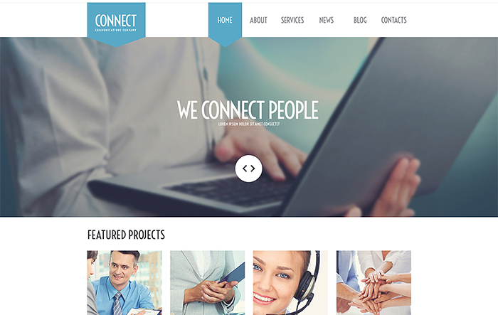 Communications Agency WordPress Theme