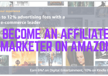 How To Become An Affiliate Marketer For Amazon
