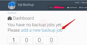 sqlback-application-dashboard
